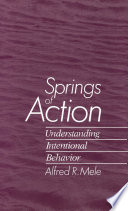 Springs Of Action Book PDF