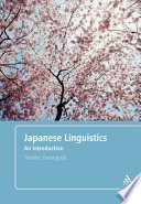 Japanese linguistics  : an introduction