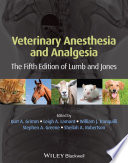 Veterinary Anesthesia and Analgesia Book