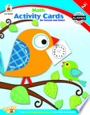 Math Activity Cards for School and Home  Grade 2