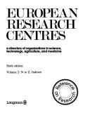 European Research Centres Book PDF