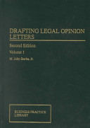 Drafting Legal Opinion Letters