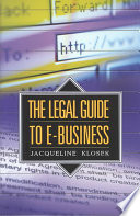 The Legal Guide to E business