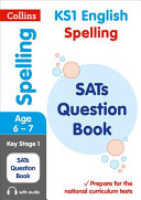 KS1 Spelling SATs Question Book