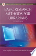 Basic Research Methods For Librarians Fifth Edition
