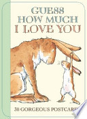 GUESS HOW MUCH I LOVE YOU POSTCARD BOOK