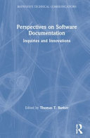 Perspectives on Software Documentation