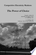 Competitive Electricity Markets  The Power of Choice Book