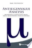 Antieigenvalue Analysis