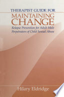 Therapist Guide for Maintaining Change