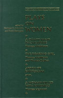 Plays on Women Book