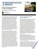 Improving Energy Efficiency in Historic Buildings