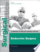 Endocrine Surgery E Book