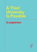A Third University Is Possible Pdf/ePub eBook