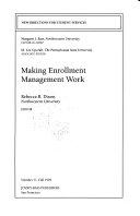 Making Enrollment Management Work