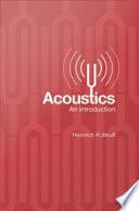 Acoustics Book