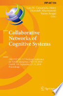 Collaborative Networks Of Cognitive Systems Book PDF