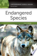 Endangered Species  A Reference Handbook