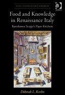 Pdf Food and Knowledge in Renaissance Italy Telecharger