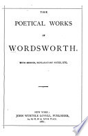 The Poetical Works of Wordsworth
