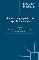 Minority Languages in the Linguistic Landscape Pdf/ePub eBook