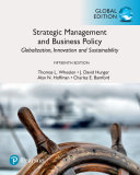 Strategic Management And Business Policy Globalization Innovation And Sustainability Global Edition PDF