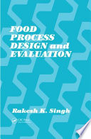 Food Process Design And Evaluation Book PDF