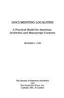 Documenting Localities Book PDF