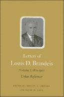 Letters of Louis D. Brandeis