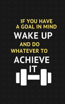 Winners Wake Up and Work Hard to Achieve It   Motivational Notebook  Daily Training  Fitness and Workout Journal Notebook  Amazing Gift