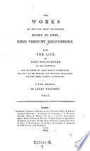 The Life of Henry Lord Viscount Bolingbroke Book PDF