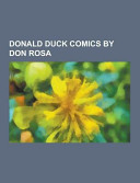 Donald Duck Comics by Don Rosa