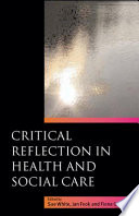 Ebook Critical Reflection In Health And Social Care