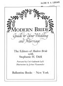 Modern Bride Guide to Your Wedding and Marriage