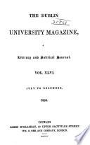 The Dublin University Magazine Book