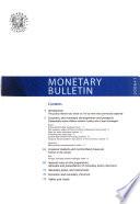 Monetary Bulletin