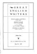 Great English Writers