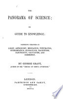 The Panorama of Science, Or Guide to Knowledge