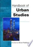 Handbook of Urban Studies