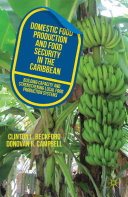 Pdf Domestic Food Production and Food Security in the Caribbean Telecharger