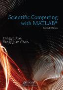 Scientific Computing with MATLAB Pdf/ePub eBook