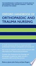 Oxford Handbook of Orthopaedic and Trauma Nursing Book