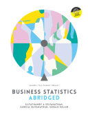 Business Statistics Abridged