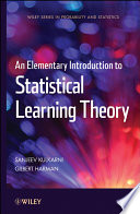 An Elementary Introduction to Statistical Learning Theory Book