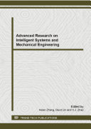 Advanced Research on Intelligent Systems and Mechanical Engineering Book