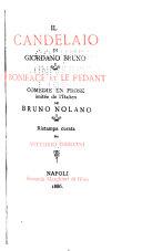 Il candelaio di Giordano Bruno