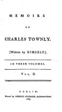 Memoirs of Charles Townly ... Second edition