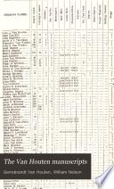 The Van Houten Manuscripts Book
