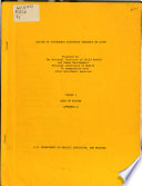 Review of Government Supported Research on Aging  Body of review  appendix A Book