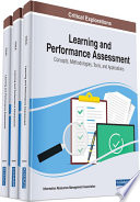 Learning and Performance Assessment  Concepts  Methodologies  Tools  and Applications